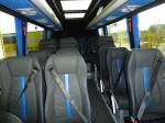Liverpool Sprinter 16 seater minibus interior